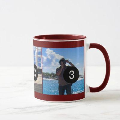 Create Your Own Photo Style Moment 3 images Mug