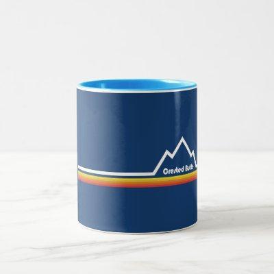 Crested Butte Colorado Two-Tone Coffee Mug