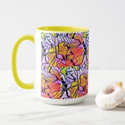 Crinkle and Feather! Mug