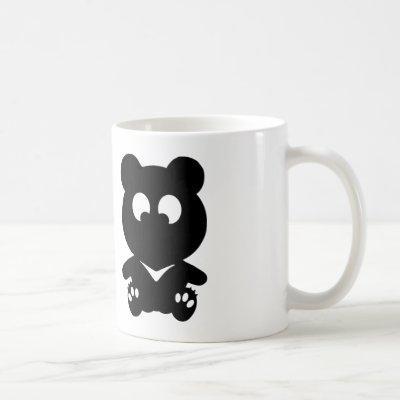 Cross Eyed BEAR Coffee Mug