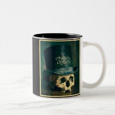 Crumbling Elegance Two-Tone Coffee Mug
