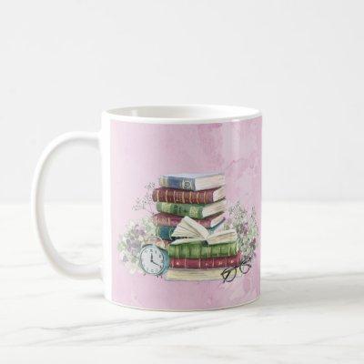 CS Lewis Book & Tea Coffee Mug