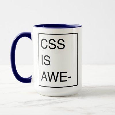 CSS Paged Overflow Mug