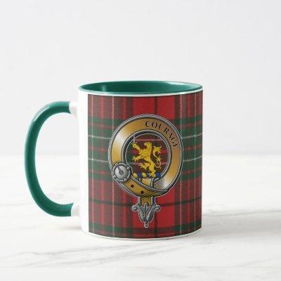 Cumming Tartan & Badge Mug
