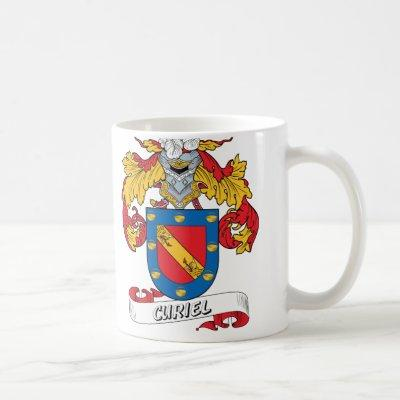 Curiel Family Crest Coffee Mug