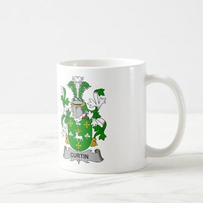 Curtin Family Crest Coffee Mug