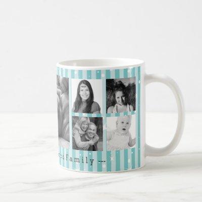 Custom 9 Instagram Photo Collage Coffee Mug