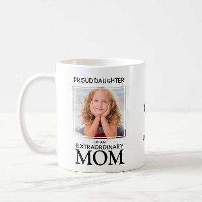 Custom Best Mom Ever Photo Coffee Mug