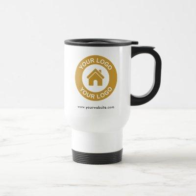 Custom Business Logo Promotional Travel Mug
