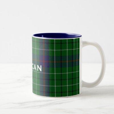 Custom Clan Duncan Tartan Plaid Mug