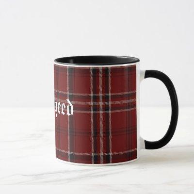 Custom Classic Lougheed Tartan Plaid Mug