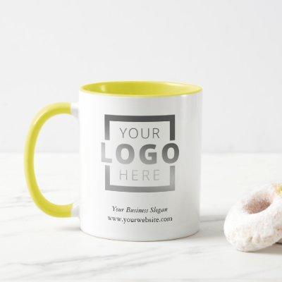 Custom Color Promotional Business Logo Branded Mug
