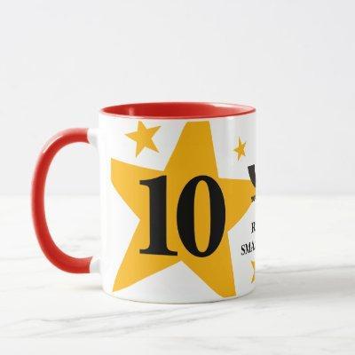 Custom color UNIVERSAL employee anniversary coffee Mug