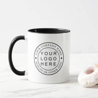 Custom Company Logo Business Promotional Mug