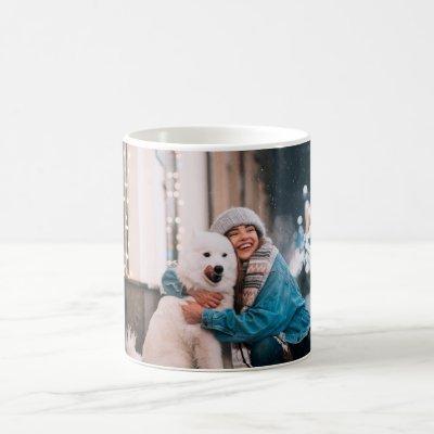 Custom Family or Pet Photo Coffee Mug