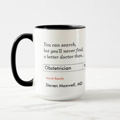 Custom Gift for Obstetrician Mug