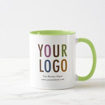 Custom Inside Color Mug Promotional Business Logo
