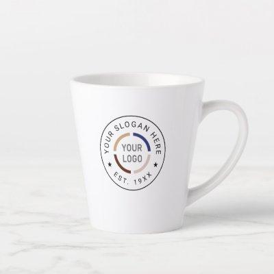 Custom Logo branded promotional Latte Mug