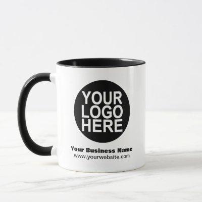 Custom Mug Promotional With Business Logo