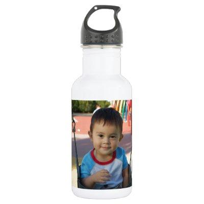 Custom Personalized Photo Water Bottle