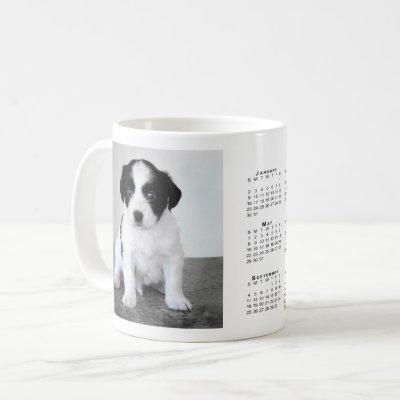 Custom Pet Photo 2022 Calendar Coffee Mug