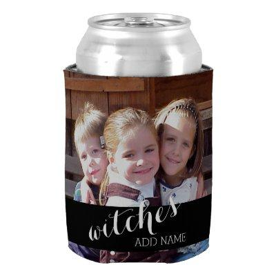 Custom Photo and text Can Cooler