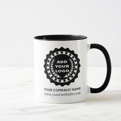 Custom Promotional Business Logo Mug