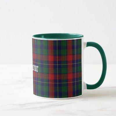 Custom Traditional Kilgour Tartan Plaid Mug