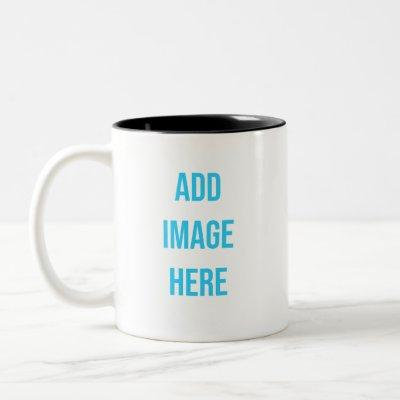 CUSTOM Two-Tone COFFEE MUG