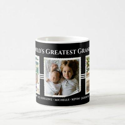 Custom World's Greatest Grandpa | Photo Coffee Mug
