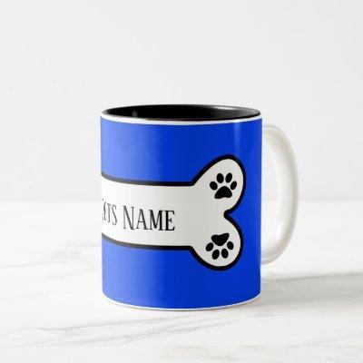 Customizable Pet  Name Dog Mug