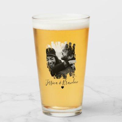 Customized Modern Photo Beer Glass