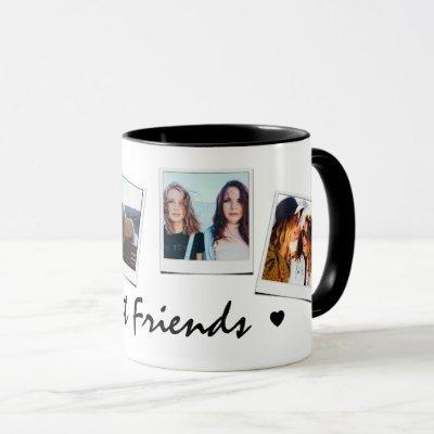 Cute 4 photo Best Friends Mug