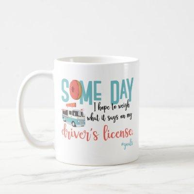 Cute and funny mug with donuts
