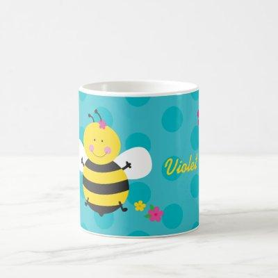 Cute Bee Personalized Mug