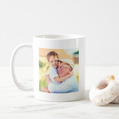 Cute Best Grandpa Pops PopPop Ever Photo Coffee Mug