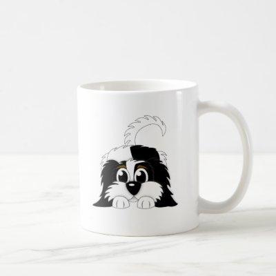 Cute Cartoon Cavachon Coffee Mug