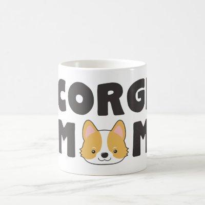 Cute Corgi Mom Coffee Mug