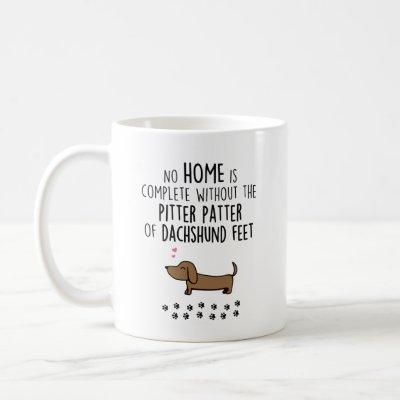 Cute Dachshund Coffee Tea Mug