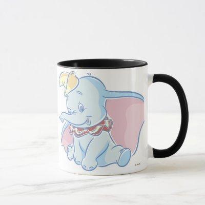 Cute Dumbo Sketch Mug