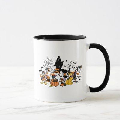 Cute Halloween Mickey and Friends Mug