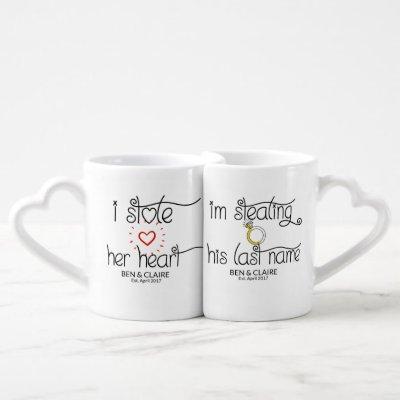Cute His & Hers Humor Coffee Mug Set