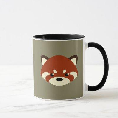 Cute Red Panda Mug