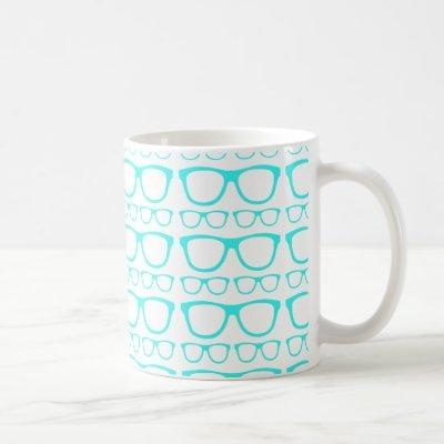 Cute Retro Eyeglass Hipster Coffee Mug