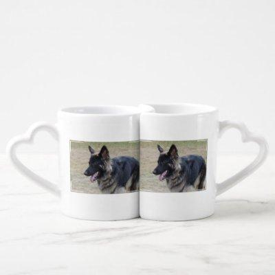 Cute Shiloh Shepherd Coffee Mug Set