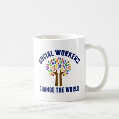 Cute Social Work Quote Coffee Mug
