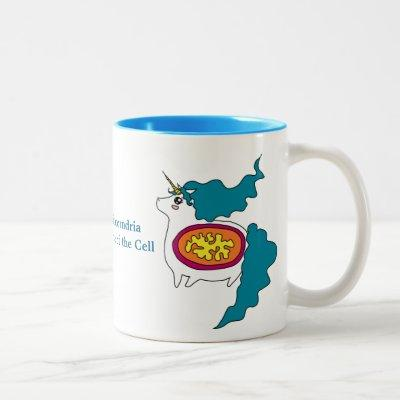 Cute Unicorn Mitochondria Coffee Mug