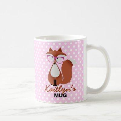 Cutie Cartoon Fox Mug