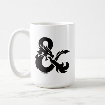 D&D One-Color Ampersand Logo Coffee Mug