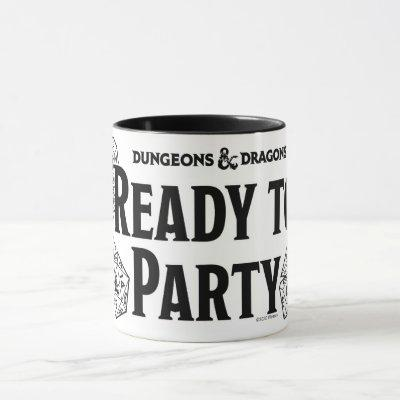 D&D - Ready To Party Mug